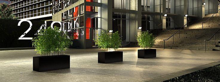 Plantenbakken, boombakken in polymeerbeton (verkrijgbaar op maat)