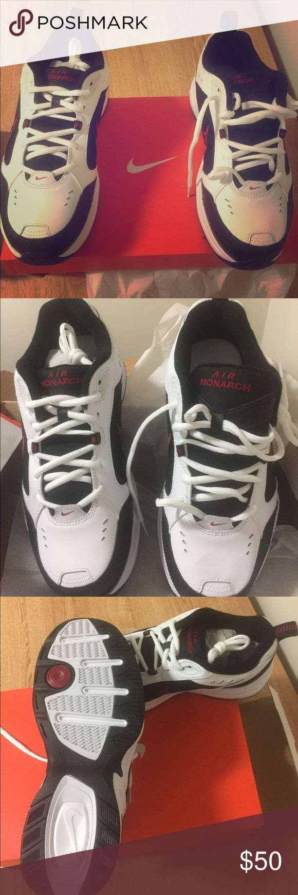 Nike Air Monarch. Never been worn New Nike Air Monarch comes with the box. Very comfortable and a good design Nike Shoes Sneakers