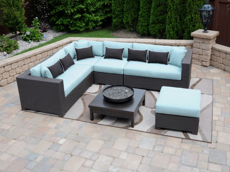 Delightful Sectional Patio Furniture Clearance