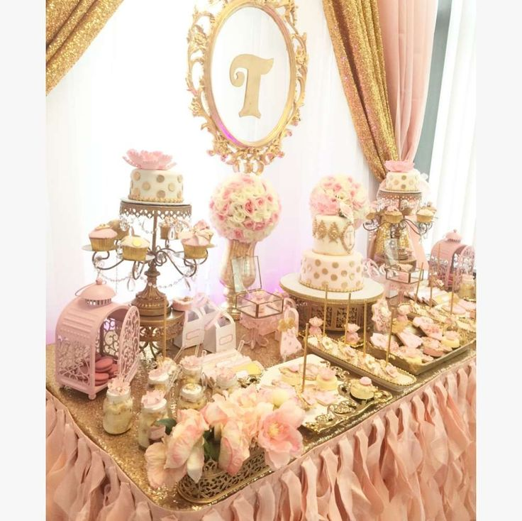 Little girl on the way Baby Shower Party Ideas | Photo 1 of 8