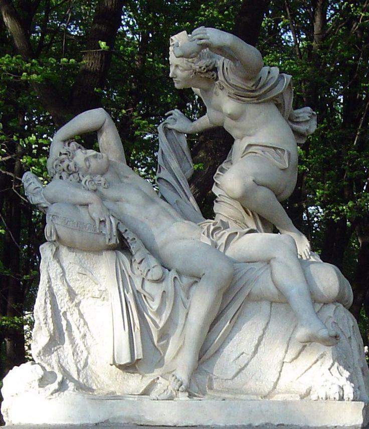 Летний сад, оригинальная скульптура.