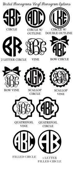 25  best ideas about monogram cups on pinterest