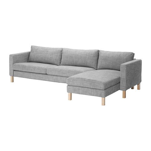 KARLSTAD Sofa And Chaise Lounge IKEA A Range Of Coordinated Covers Makes It  Easy For You