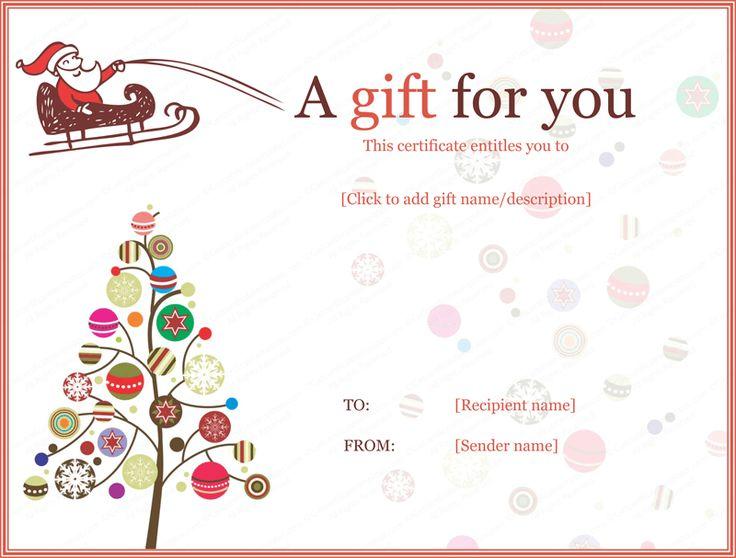 Create A Gift Certificate Template Colbro