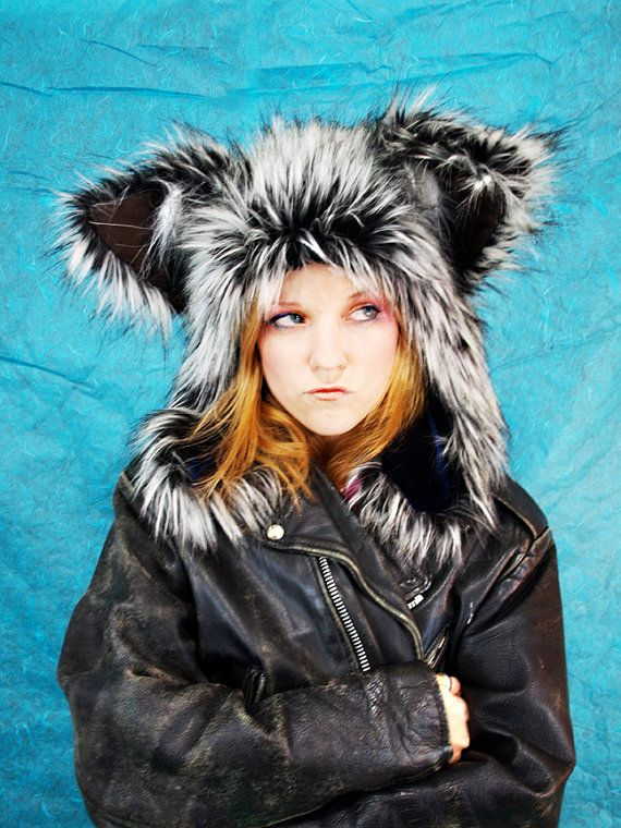 BeastWares Lupin Furry Wolf Hat-- Large Ears