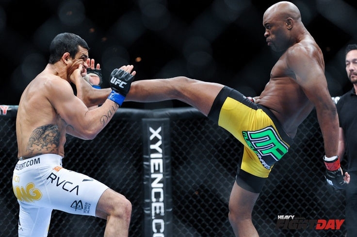 UFC Middleweight Champ Anderson Silva Ufc knockouts, Ufc