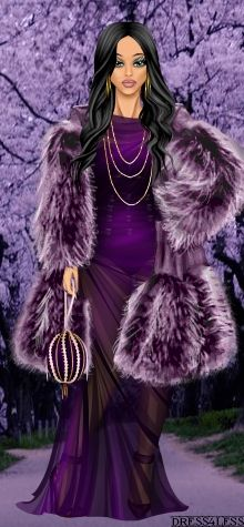 Dress Up Games   Diva Chix: The Fashionista's Playground Gorgeous Doll of the Day by Diva Chix member, amethyst_eyes.