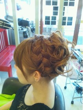 Would love to have this updo for a formal occasion! アーチ ARCH ◆-ARCH-◆結婚式お呼ばれアップスタイル☆