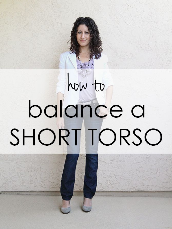"Reader Ilujna e-mailed me this request: You've done balancing a long torso and downplaying hips but I was wondering if you could do something on short torsos? I've got ""great"" hips…"