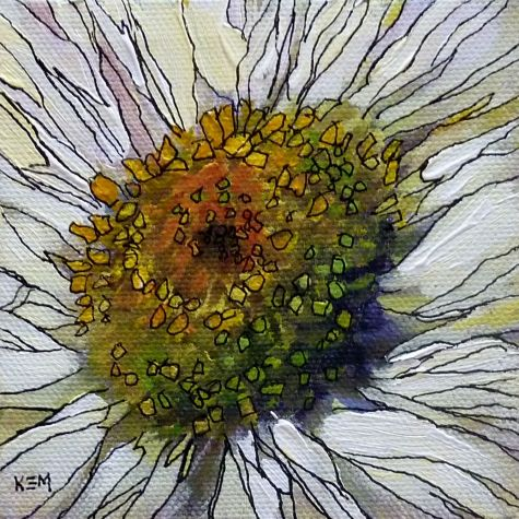 The Joy of a Fine Line...drawing with a pen, painting by artist Karen Margulis