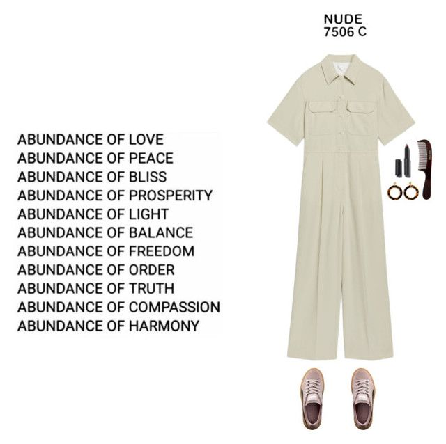 """So naked"" by vesleku on Polyvore featuring Pantone, Puma and J.Crew"