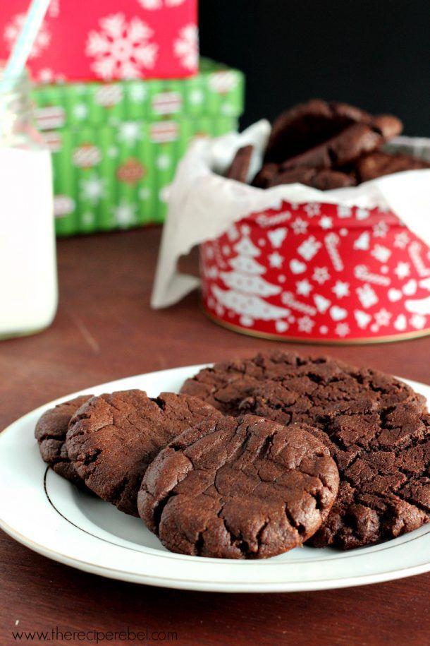 {Gluten-Free, Dairy-Free} Chocolate Peanut Butter Cookies - The Recipe Rebel