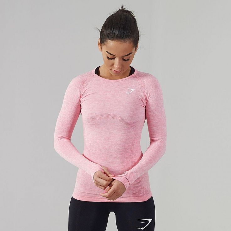 Gymshark-Seamless-Long-Sleeve-T-Shirt-Sorbet Pink-v2