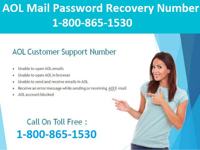 If you've #Forgotten the #Password for your #AOL #Mail account, and you are unable to recover it, simply call 1-800-865-1530 AOL Mail Password #Recovery #Number for help. Some time forgetting AOL Mail password can be inconvenient and frustrating. Don't worry for this situation; we are here to assist you regarding your password. Visit http://emailsupportpoint.com/aol-mail-password-recovery-number for more detail!