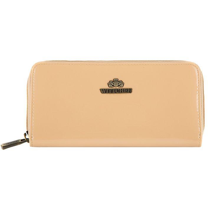 Lakierowany portfel z kolekcji Verona.