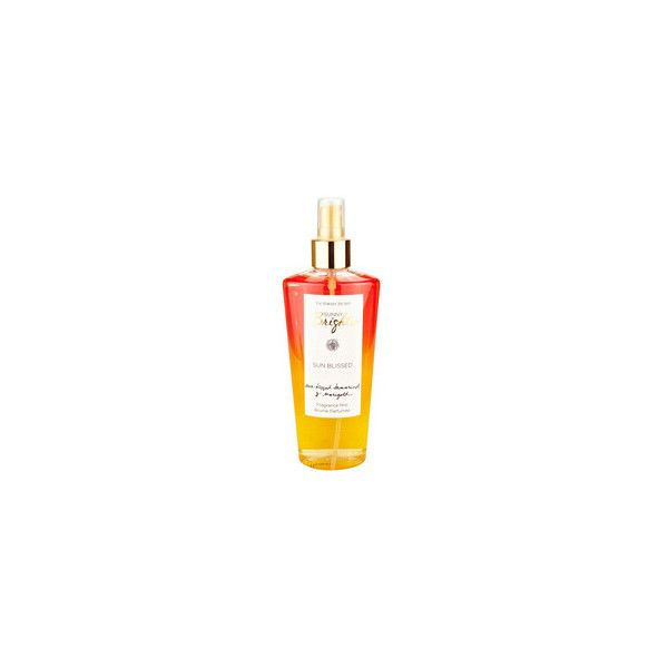Victoria's Secret Sun Blissed Fragrance Mist ❤ liked on Polyvore featuring beauty products, fragrance, victoria's secret, spray perfume, victoria secret perfume and victoria secret fragrance