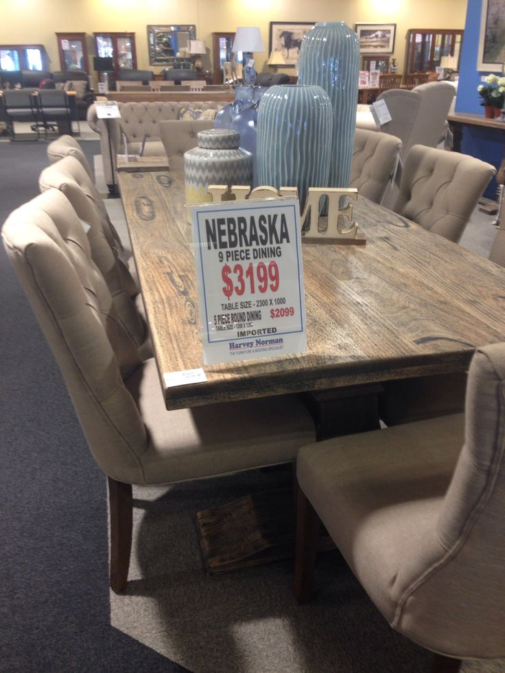 Dining table harvey norman house home pinterest for Dining room tables harvey norman
