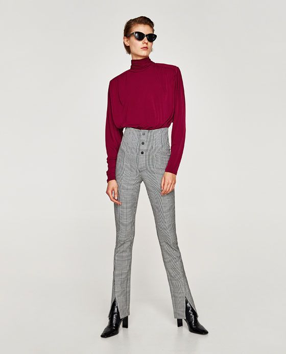 Zara Has A Lot Of Really Good Leggings Right Now +#refinery29