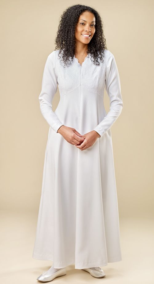 White Elegance In 2019 Temple Dresses Temple Dress