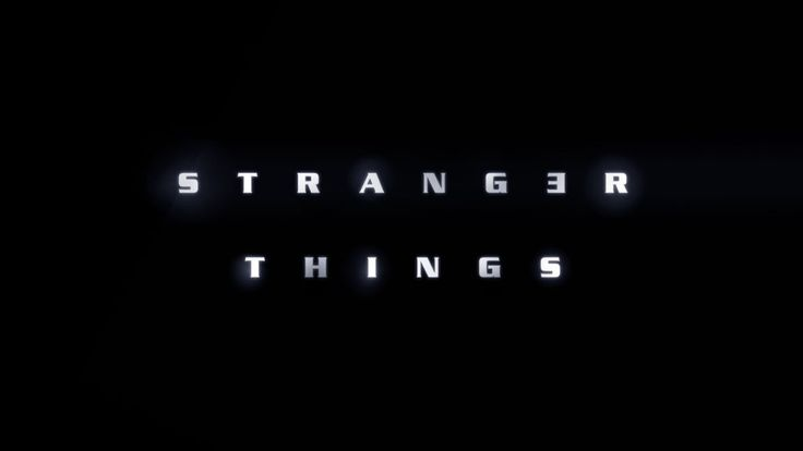 This concept for the Stranger Things title uses the MT Light font. The wide spacing of the letters is evocative of the unsettling title sequence for Alien.