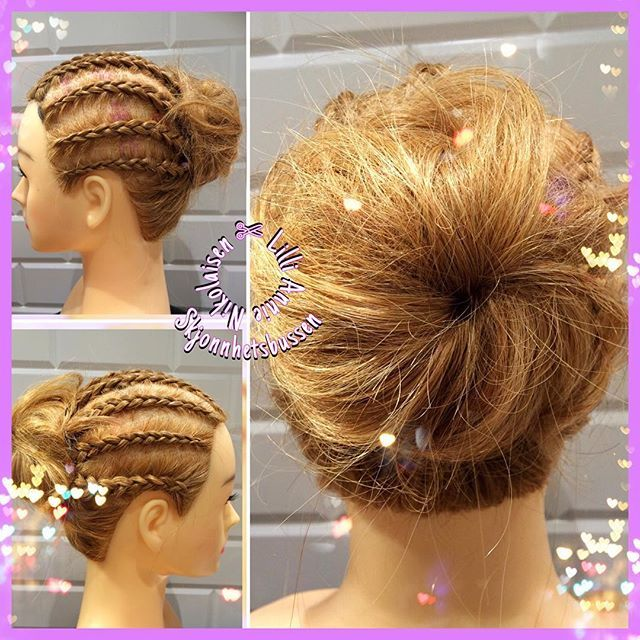 When there is quiettime at work. #braid #plat #updo #hair #pretty #nikitahair…