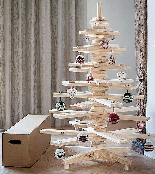 Arbol de Navidad diferente, creativo