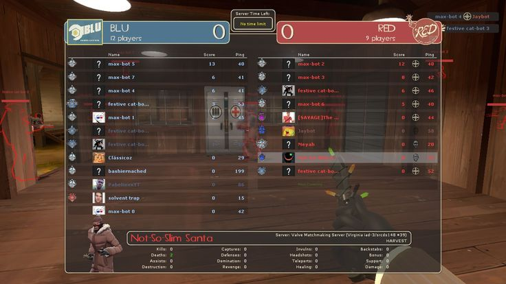 Was playing at 6AM joined a server that was over 50% bots #games #teamfortress2 #steam #tf2 #SteamNewRelease #gaming #Valve