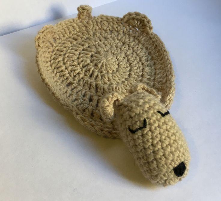 Posa vaso crochet