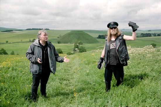 The heroic Stewart Lee meets the legendary Julian Cope to talk about the Arch Drood's debut novel for Faber, 131. All photographs by Cat Stevens