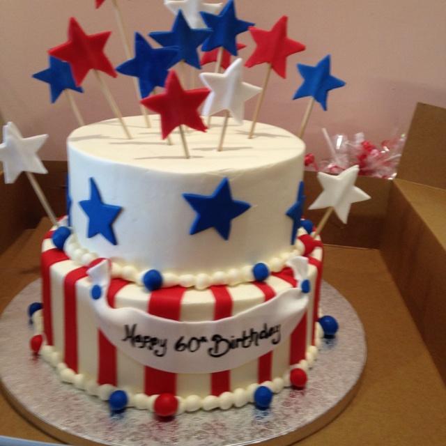 Fun birthday cakesBirthday America, July Cake, Birthday Parties, Fun Birthday, Cake Ideas, 4Th Of July, July Birthday, Fun Cake, Birthday Cakes