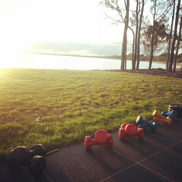 A beautiful way to start the day #bootcamp