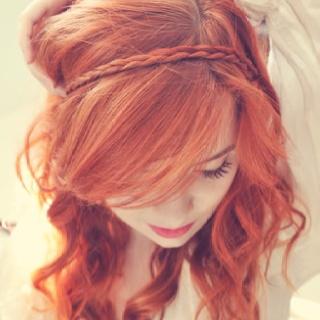 Jane Aldridge (seaofshoes.com): Hair Colors, Red Hair, Haircolor, Hair Style, Redheads, Redhair, Braids Headbands, Red Head, Braids Hair