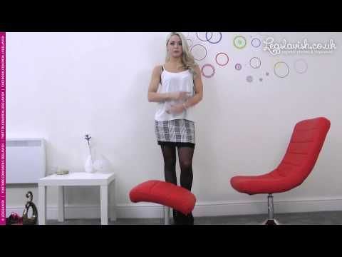 Legslavish UK » Gabrielle models Pierre Mantoux Setificato 40 tights