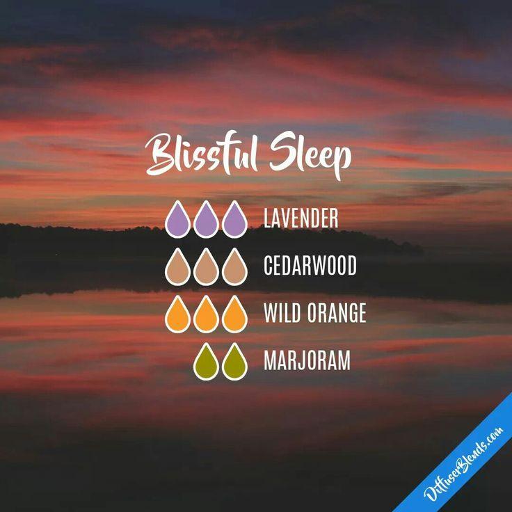 Blissful Sleep Diffuser Blend