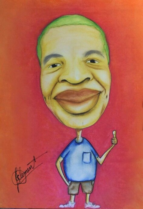 My boss caricature