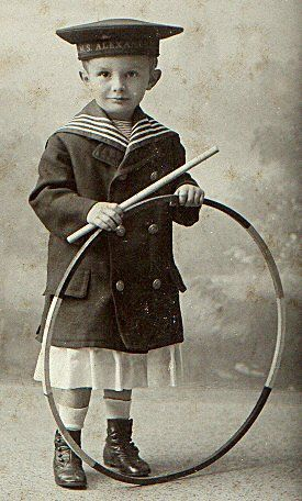 From my blog about nineteenth and early twentieth century sailor suits for kids.