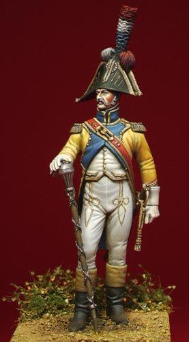Tambour-major du 67e rйgiment d'infanterie de ligne (Premier Empire).