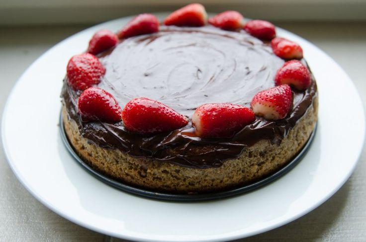 Mother's Day Cake (Bezpracný perník ke Dni matek)