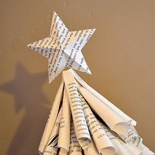 Arbol de Navidad de mesa con papel reciclado : VCTRY's BLOG