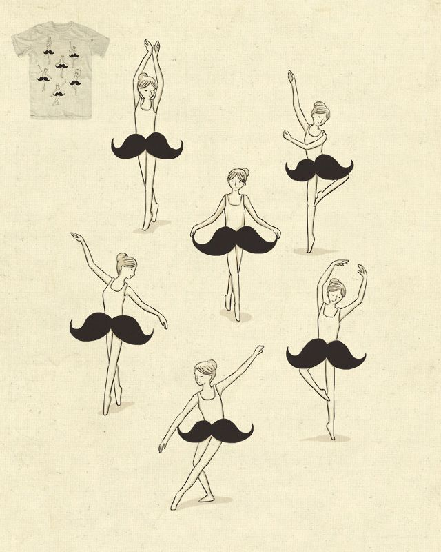 Ballet of the mustache