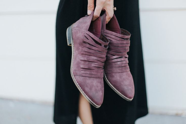 Plum Colored Running Shoes