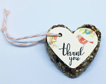 Bird Seed Favors - weddings - baby and bridal showers
