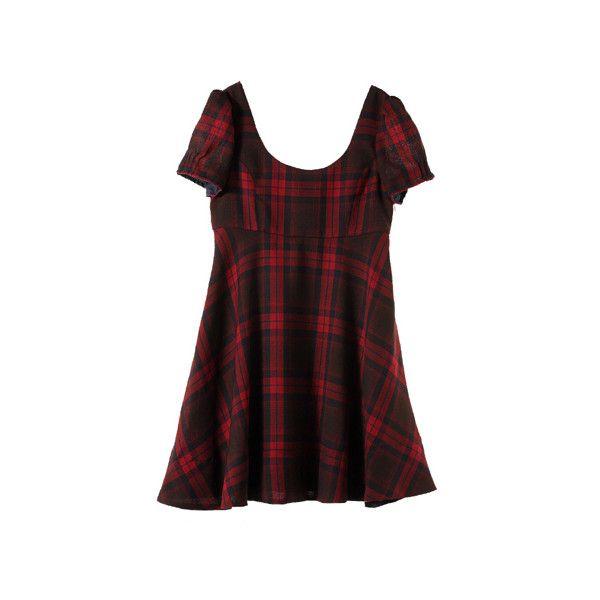 【ELLE SHOP】ワンピースレッド|ジル スチュアート(JILLSTUART)|ファッション通販 エル・ショップ (7,280 THB) ❤ liked on Polyvore featuring dresses, vestidos, tops, red and jill stuart