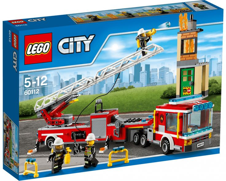 Lego City 60112 Hasičská stříkačka - 0