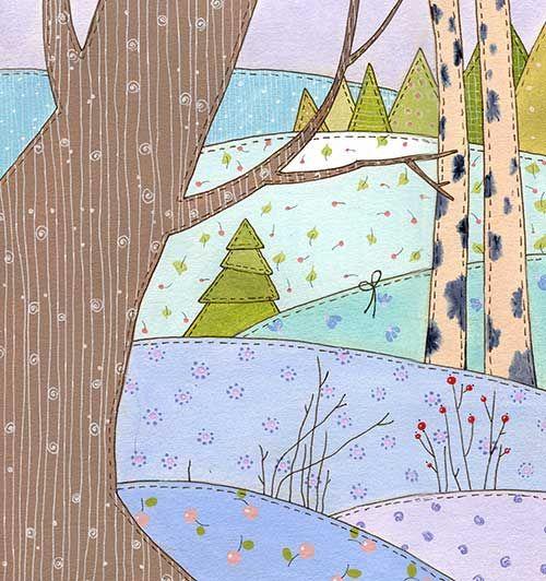 За деревом (Виктория Кирдий)