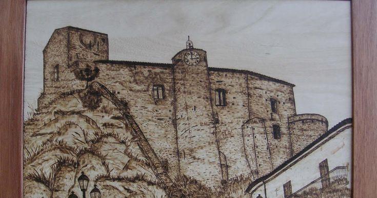 Immagine correlata Dipinti, Noce scuro e Pirografia