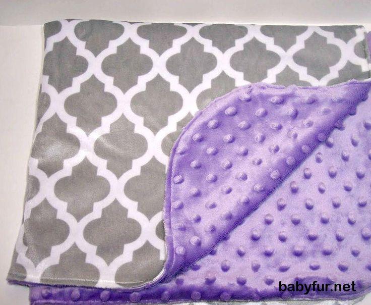 Baby Girl Bedding, Baby Girl Gift, Morocco Bedding, Baby Girl Blanket, Purple…