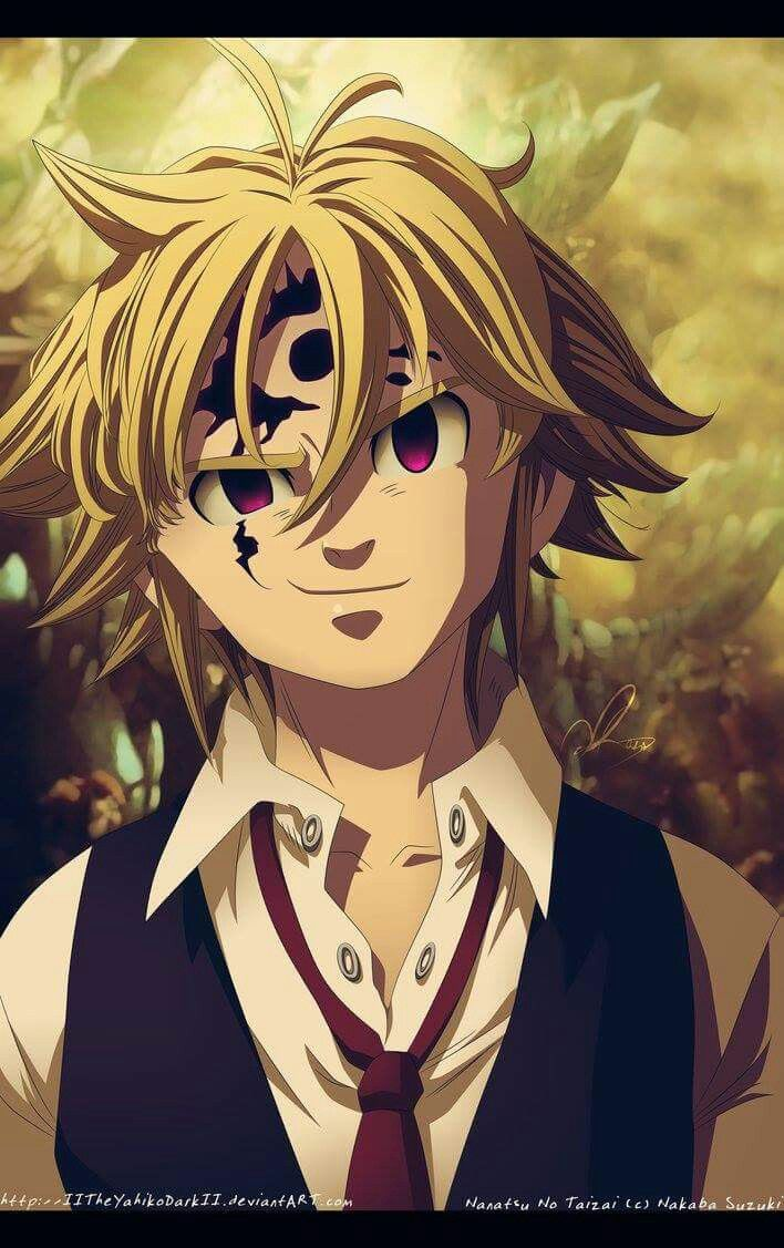 Melodias demon Nanatsu no taizai Pinterest Anime