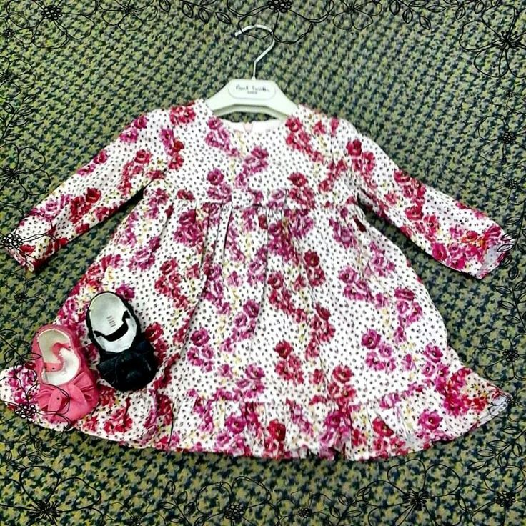 Pretty fall flowers from Paul Smith Junior for baby girls