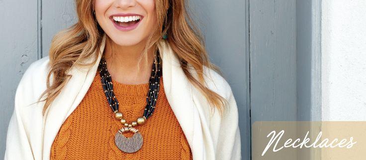 Shop our eco-friendly necklaces